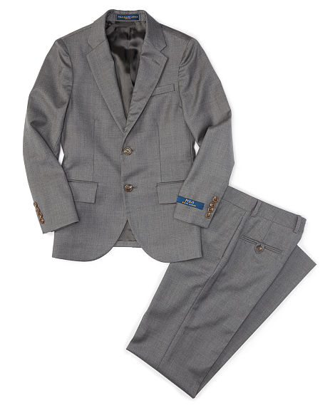 POLO I WOOL TWILL SUIT